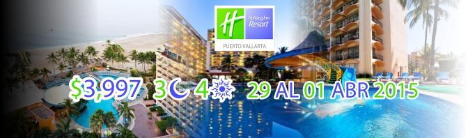 Paquete Pre-Santeño al Holiday Inn 2015