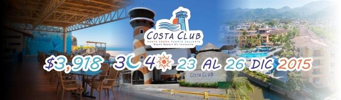 Paquete Navideño del Costa Club 2015