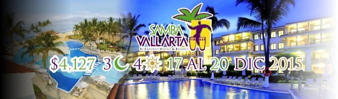 Paquete Pre-Navideño al Samba Vallarta 2015