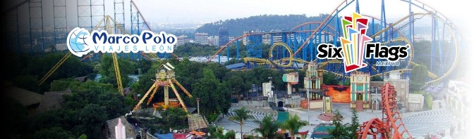 Salida a Six Flags el 17 de Abril de 2017