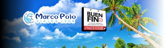 Anuncio Sobre el Buen Fin 2016 de Marco Polo Viajes León